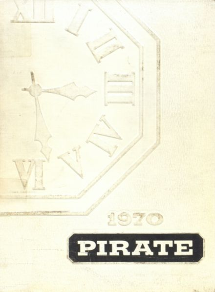 1970 Dover High School Yearbook Cover