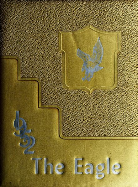 1952 Monmouth High School Yearbook Cover