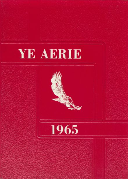 1965 Belle Center High School Yearbook Cover