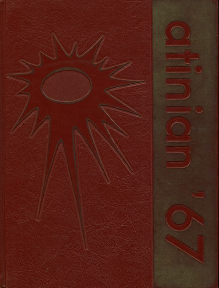 1967 William H. Taft High School Yearbook Cover