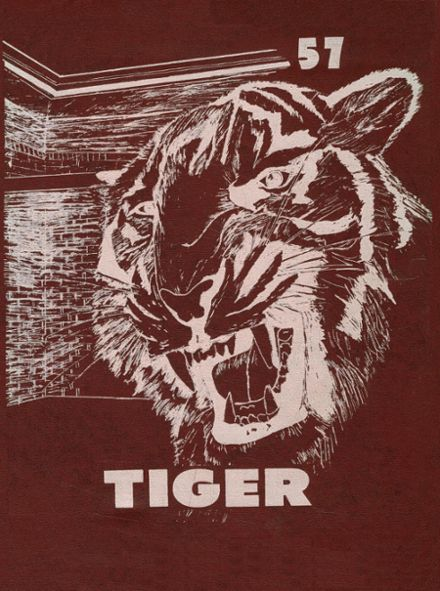 1957 Troup High School Yearbook Cover