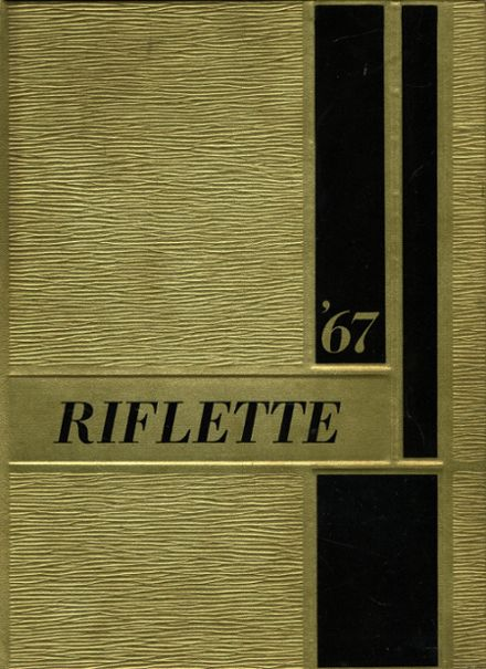1967 Remington High School Yearbook Cover
