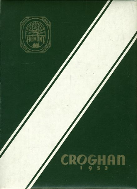 1953 Fremont Ross High School Yearbook Cover