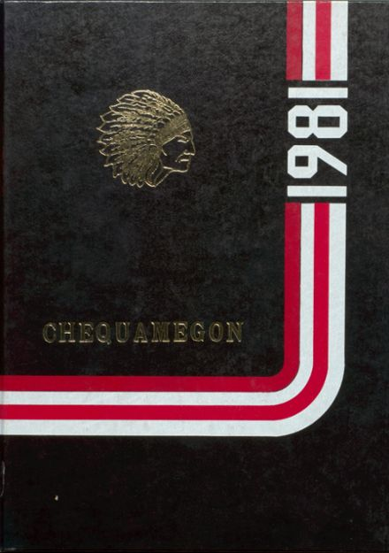 1981 Rib Lake High School Yearbook Page 1