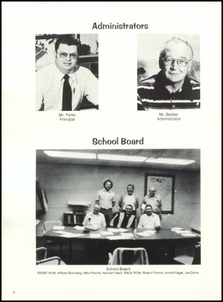 1981 Rib Lake High School Yearbook Page 6