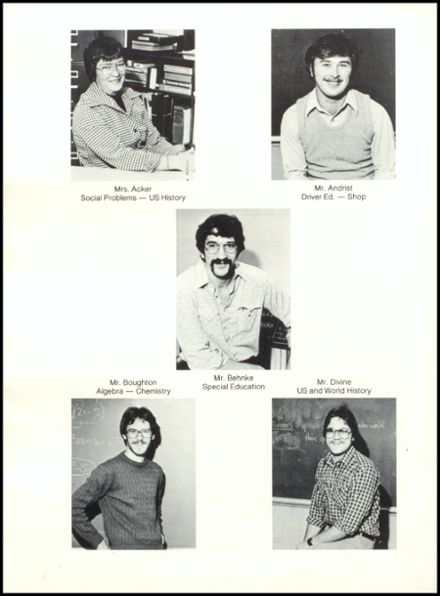 1981 Rib Lake High School Yearbook Page 8