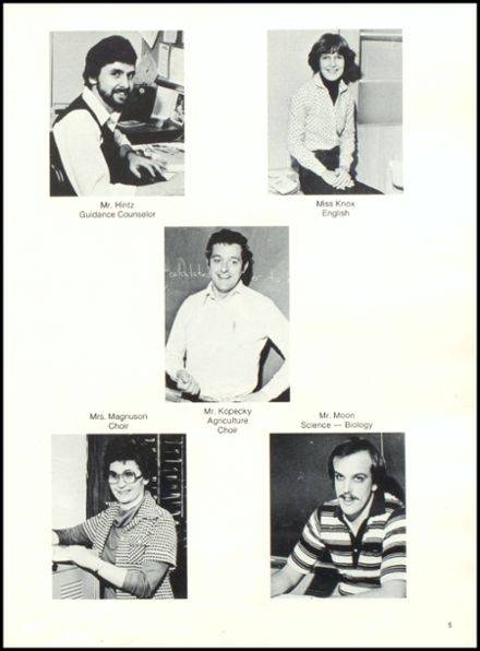 1981 Rib Lake High School Yearbook Page 9