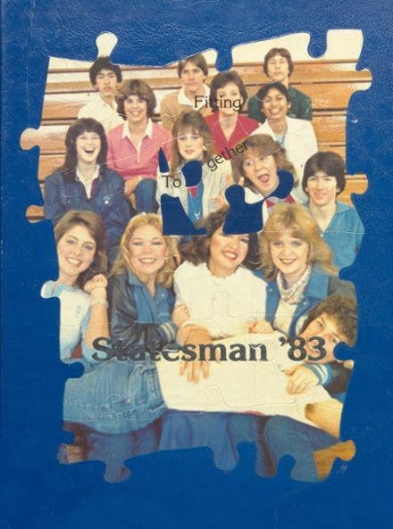 1983 Rayburn High School Yearbook Cover