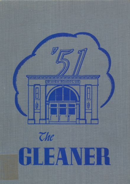 1951 Reedsburg High School Yearbook Page 1