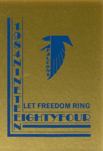1984 Freedom Christian School Yearbook Cover