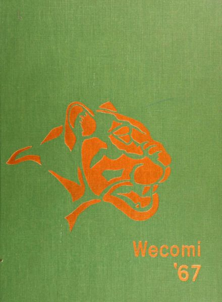 1967 Wheaton Community High School Yearbook Cover