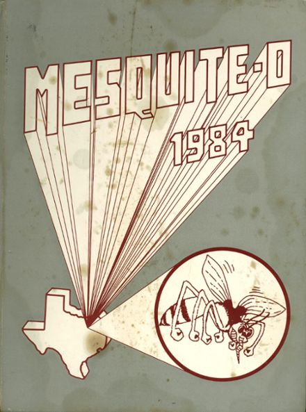 1984 Mesquite High School Yearbook Cover