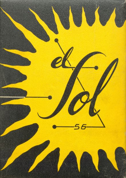 1956 Rancho High School Yearbook Cover