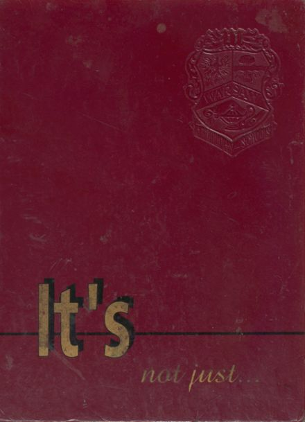 1994 Warsaw High School Yearbook Cover