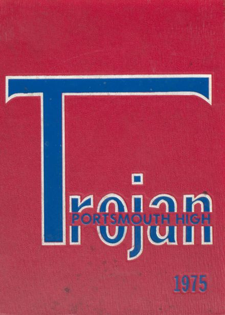 1975 Portsmouth High School Yearbook Cover