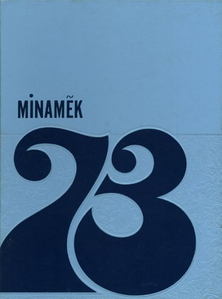 1973 Mmi College Preparatory Yearbook Cover