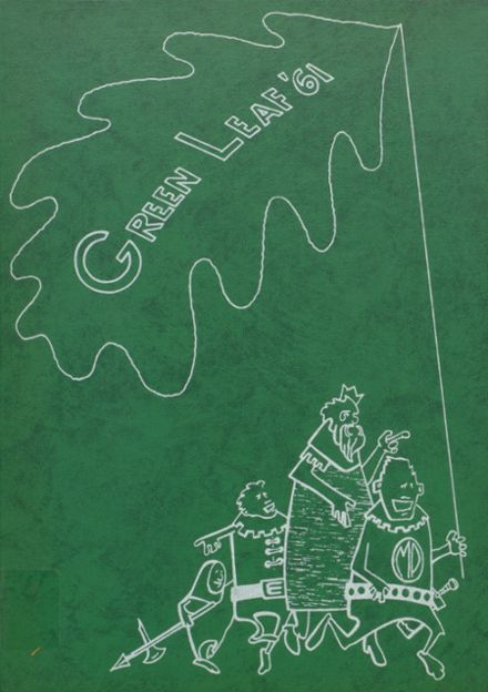 1961 Mt. Pleasant High School Yearbook Cover
