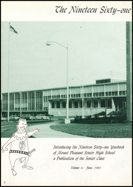 1961 Mt. Pleasant High School Yearbook Page 6