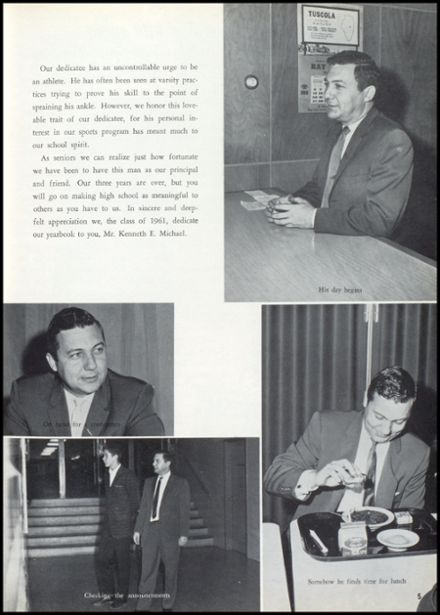 1961 Mt. Pleasant High School Yearbook Page 9