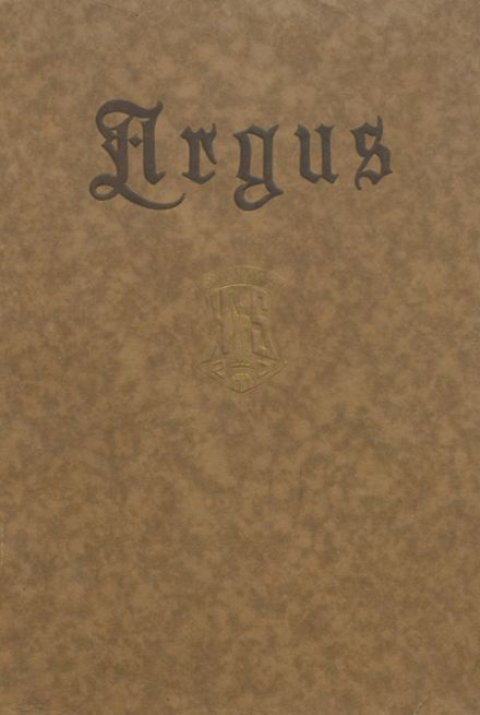 1920 Ottumwa High School Yearbook Cover