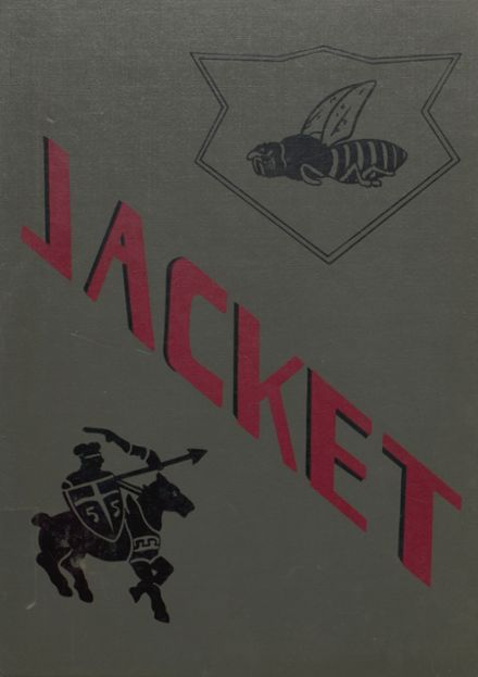 1955 Abbeville High School Yearbook Cover
