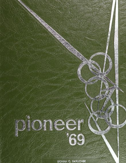 1969 Bentley High School Yearbook Cover