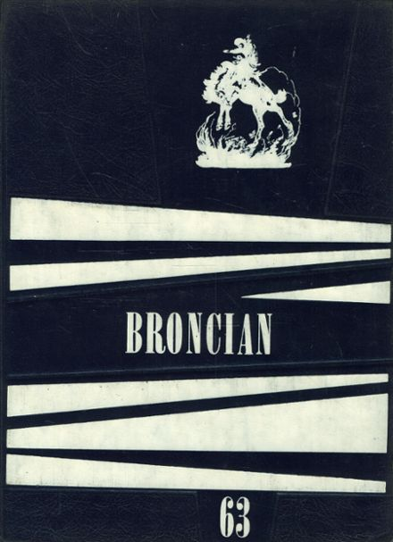 1963 Tuscarawas-Warwick High School Yearbook Cover