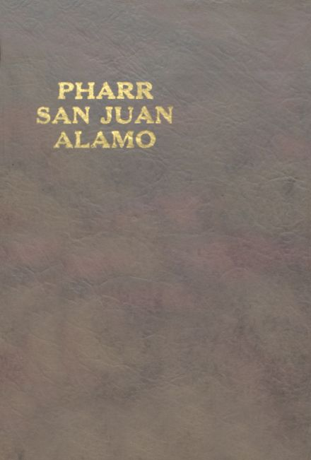1921 Pharr-San Juan-Alamo High School Yearbook Cover