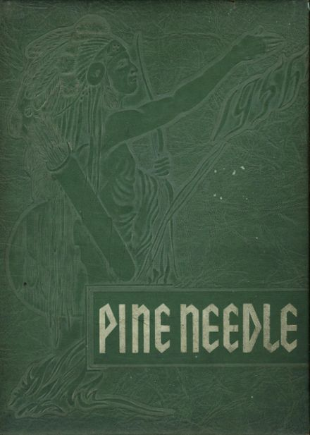 1956 Pine Level High School Yearbook Cover