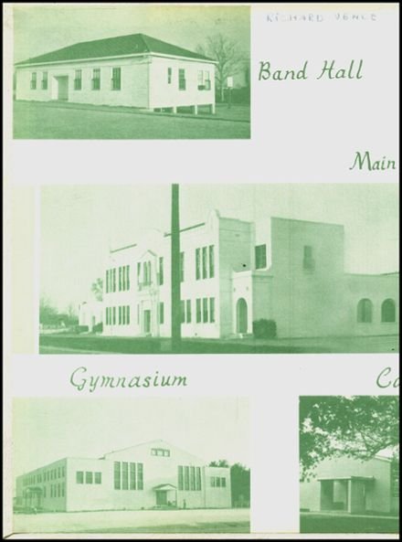 1957 Boling High School Yearbook Page 2