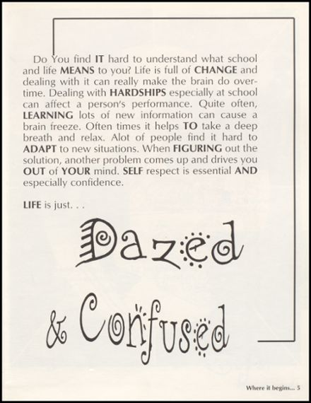 1996 Churchill County High School Yearbook Page 9