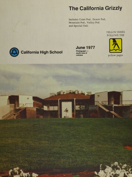 1977 California High School Yearbook Cover