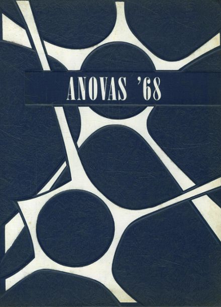 1968 Savona High School Yearbook Cover