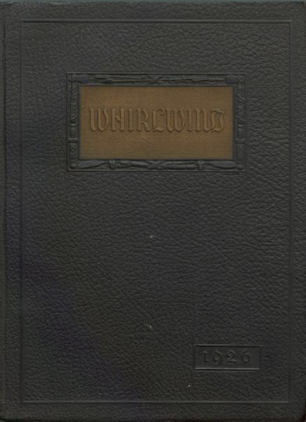 1926 Albany Union High School Yearbook Cover
