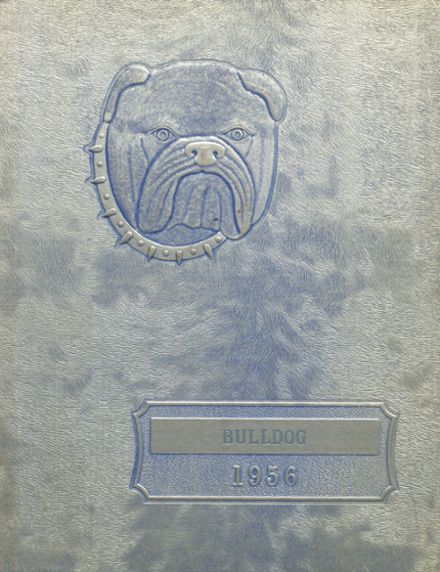 1956 Hi Plains High School Yearbook Cover