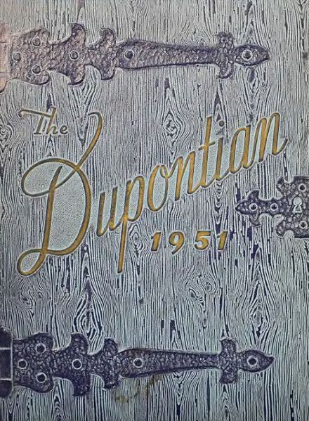 1951 Dupont High School Yearbook Cover