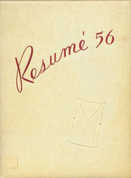 1956 New Milford High School Yearbook Cover