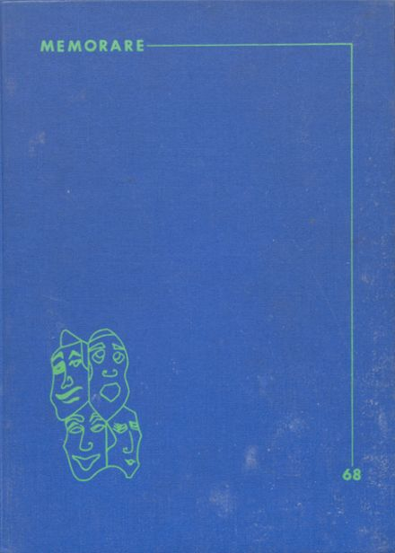 1968 Marian Central High School Yearbook Cover