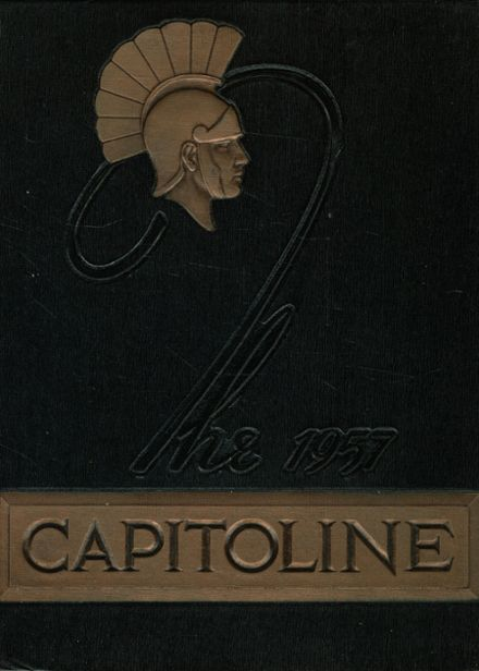 1957 Springfield High School Yearbook Cover