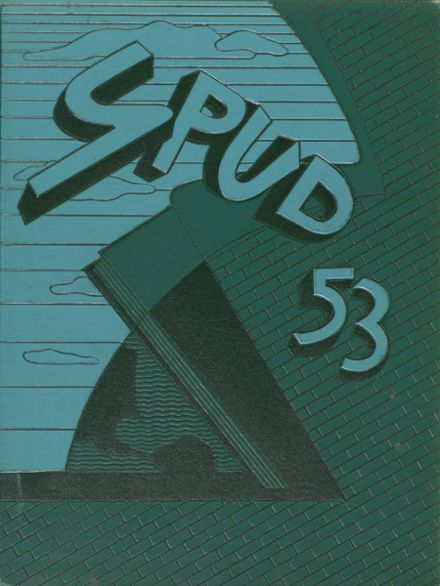 1953 Greeley Central High School Yearbook Cover