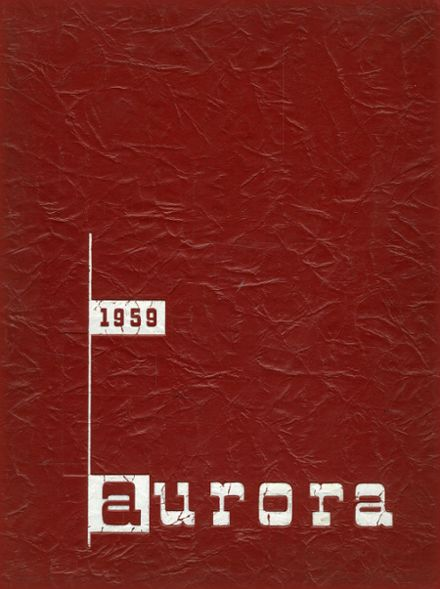 1959 Harriton High School Yearbook Cover