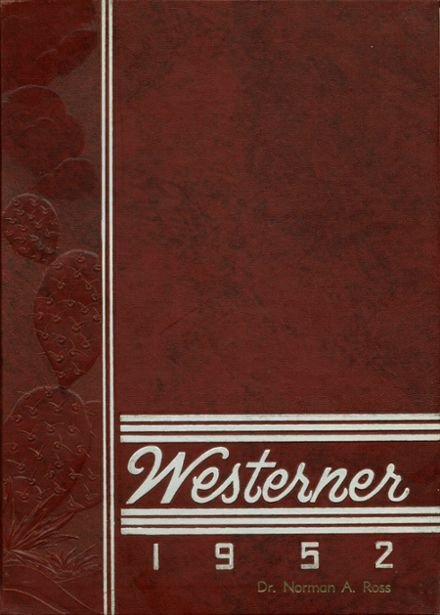 1952 West Phoenix High School Yearbook Cover