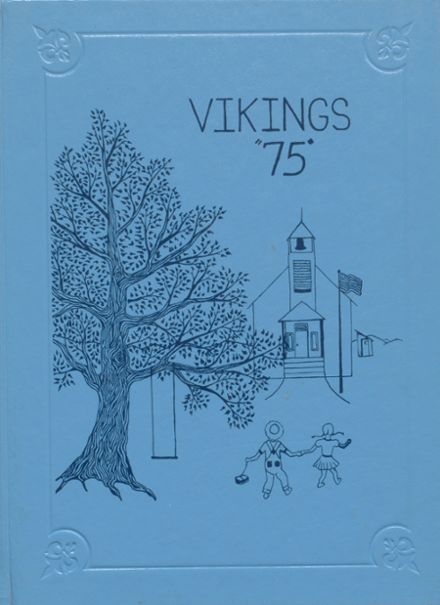 1975 Lakeview High School Yearbook Cover