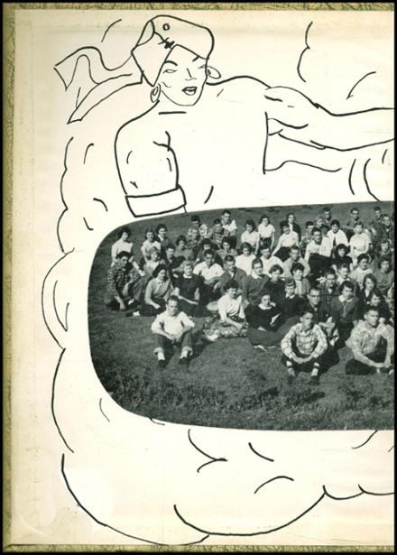 1958 Marion Center Area High School Yearbook Page 2