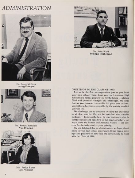 1980 Lawrence High School Yearbook Page 8