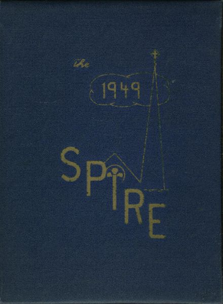 1949 Our Lady of the Lake Seminary Yearbook Cover