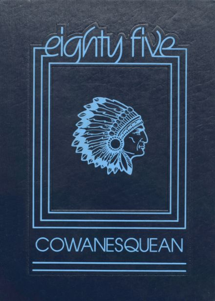 1985 Cowanesque Valley High School Yearbook Cover