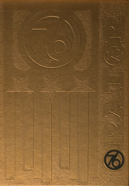 1976 Cicero High School Yearbook Cover