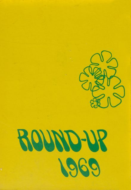 1969 Wyoming High School Yearbook Cover