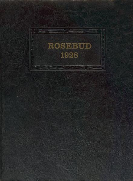1928 Waterloo High School Yearbook Cover